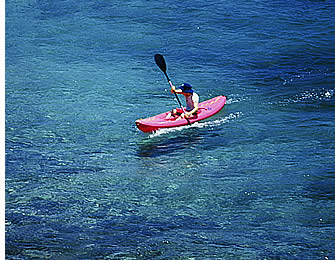 Sea Kayaking around Isla Paridita and its neighboring is a great way to spend the day